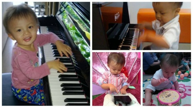 Music with mama: Structured home time