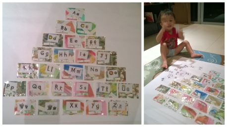 Making our Letterland tree