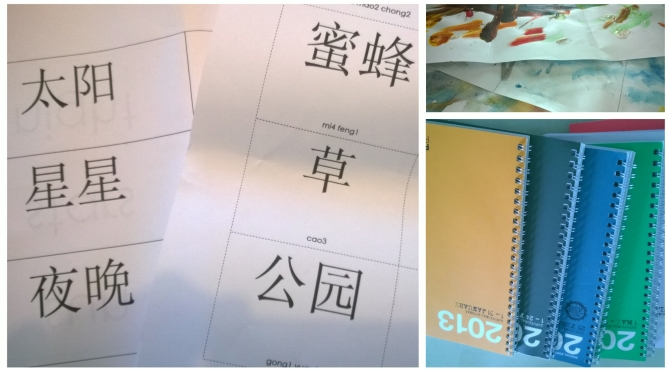 Reduce, reuse, recycle – into a Chinese scrapbook