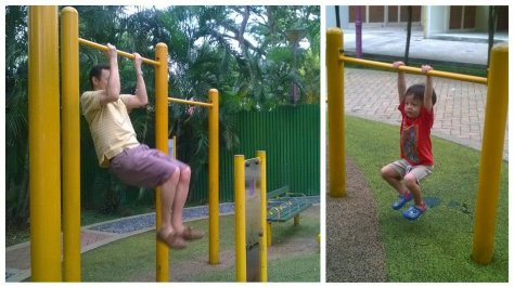 Tired of playgrounds, try pull ups instead