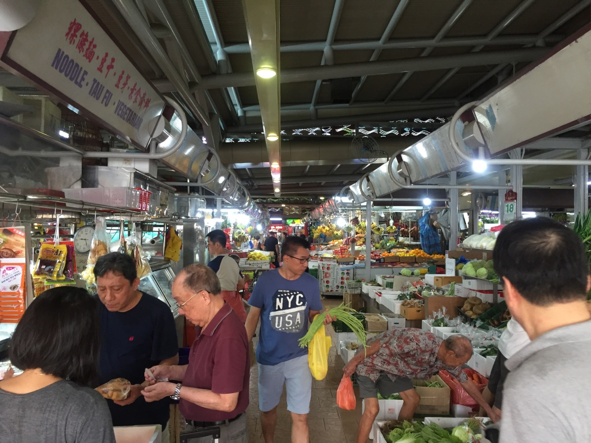 To Market, To Market ... at Pek Kio
