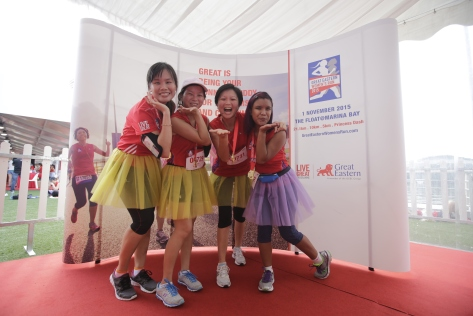 GEWR2015_Participants donning a tutu for a good cause_Credit to Great Eastern Women's Run 2015-2